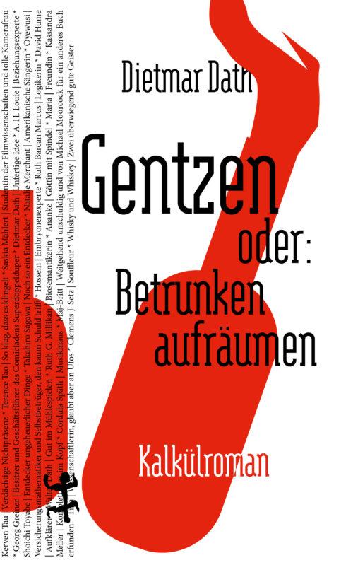 Buchcover von Gentzen oder: Betrunken aufräumen